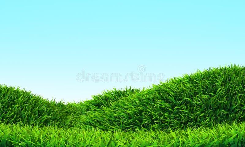 Grass Hill Stock Photo
