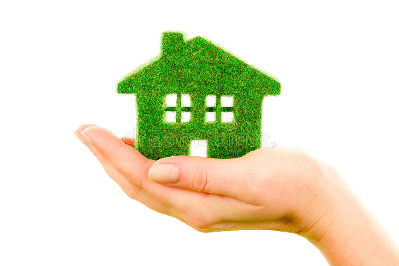 Grass home stock images