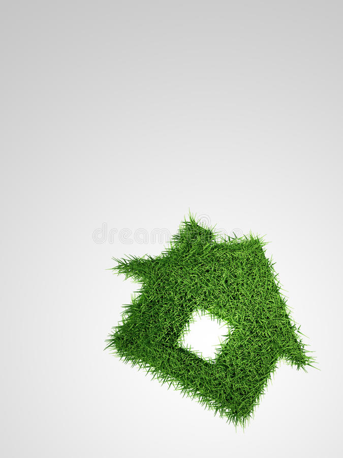 Download Grass house stock illustration. Image of meadow, lawn - 20382186