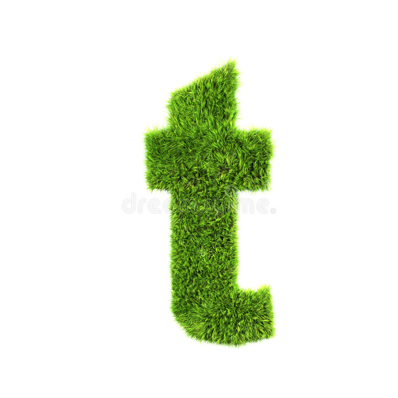 Free Grass Lower-case Letter Stock Photography - 4407222