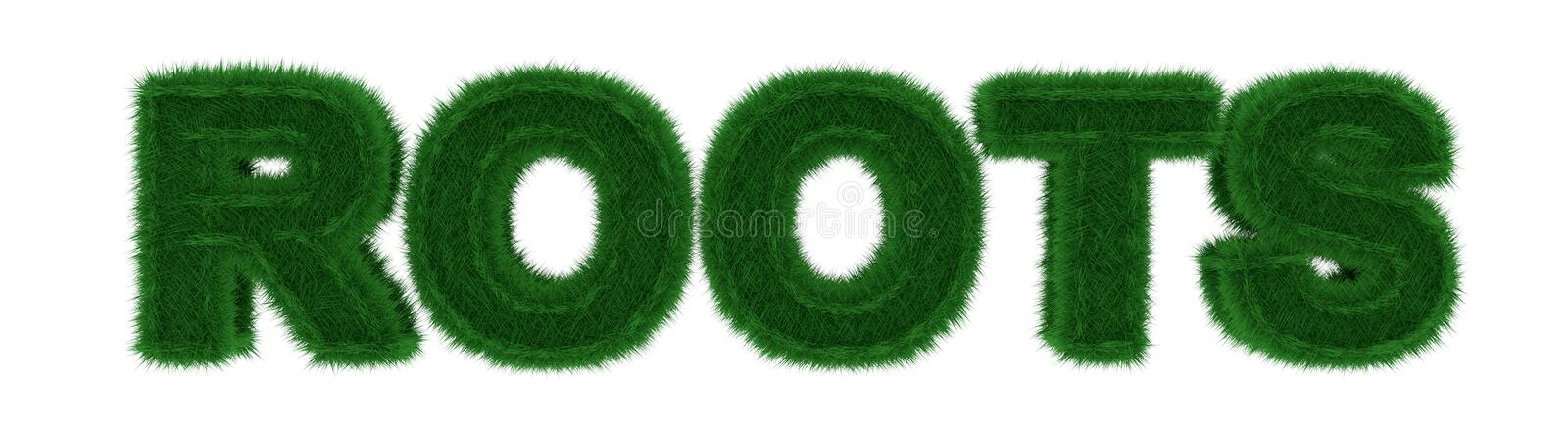 Download Grass Roots stock illustration. Illustration of environment - 29096316