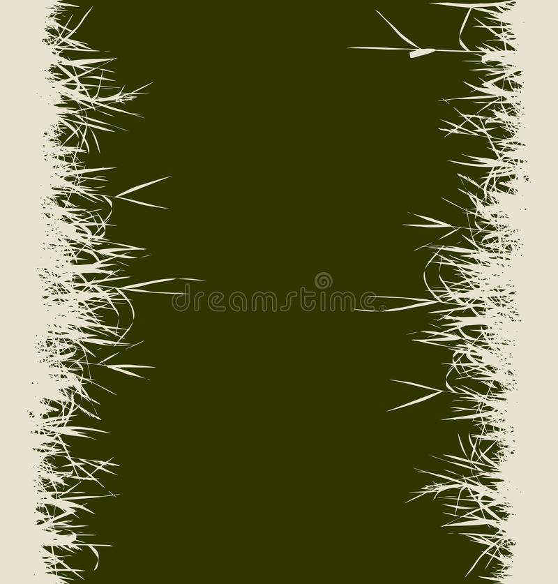 Download Grass Silhouette Background Seamless Stock Vector - Image: 10658068
