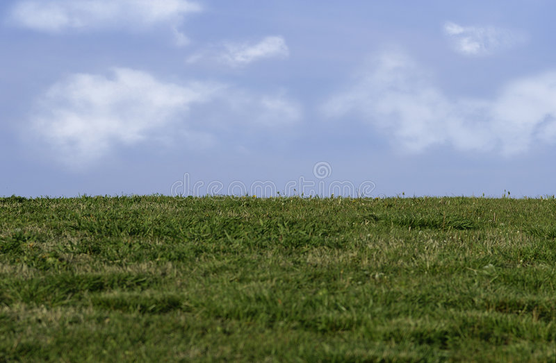 Download Grass and sky stock image. Image of clouds, farmland, meadow - 100405