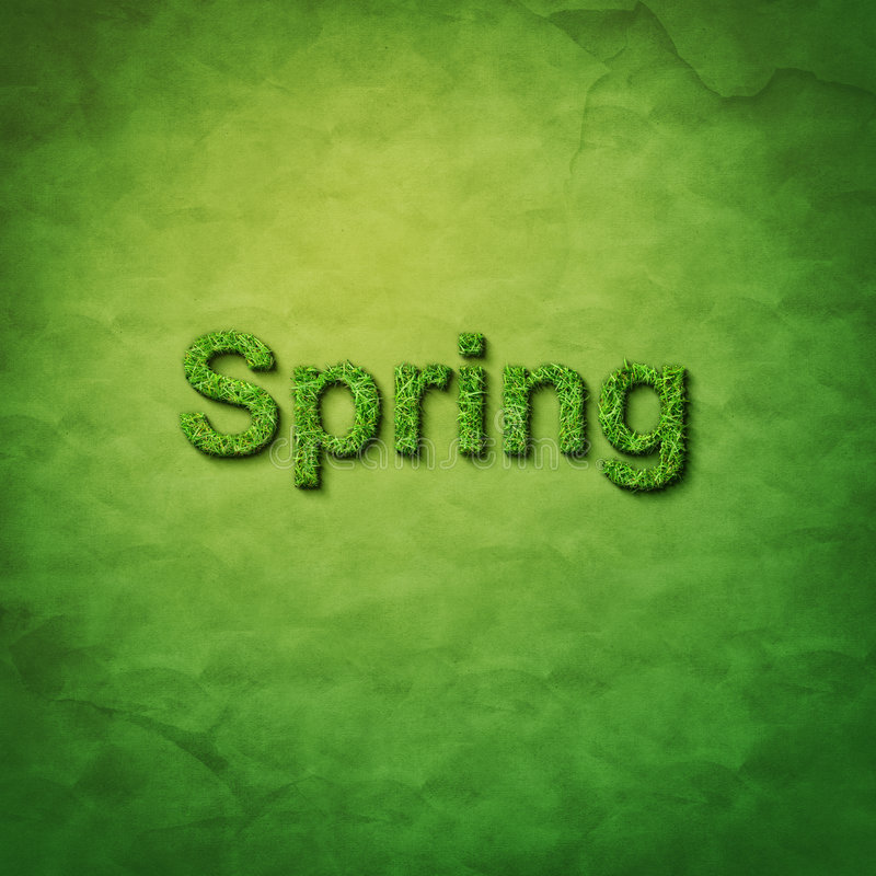 Download Grass Spring Word Stock Images - Image: 9093114