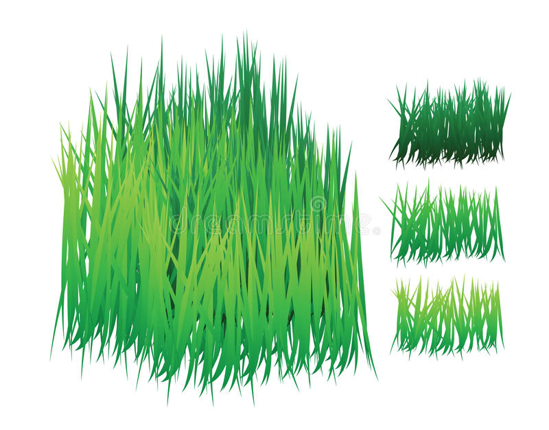 Download Grass Vector With Different Shades Stock Vector - Image: 13539841