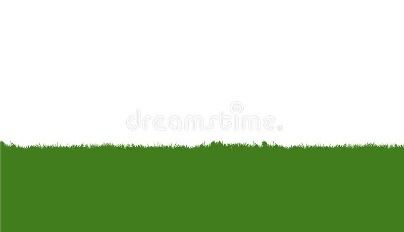 Grass vector.Lawn. royalty free illustration