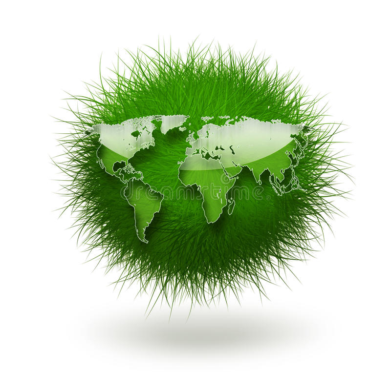 Grass World Royalty Free Stock Photography