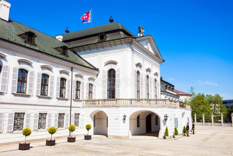 Grassalkovich宫殿在布拉索夫 免版税图库摄影