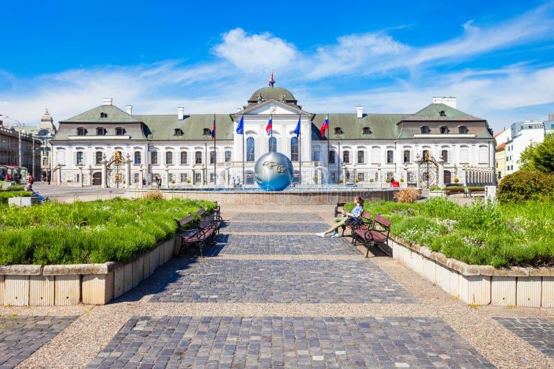 Grassalkovich宫殿在布拉索夫 库存图片