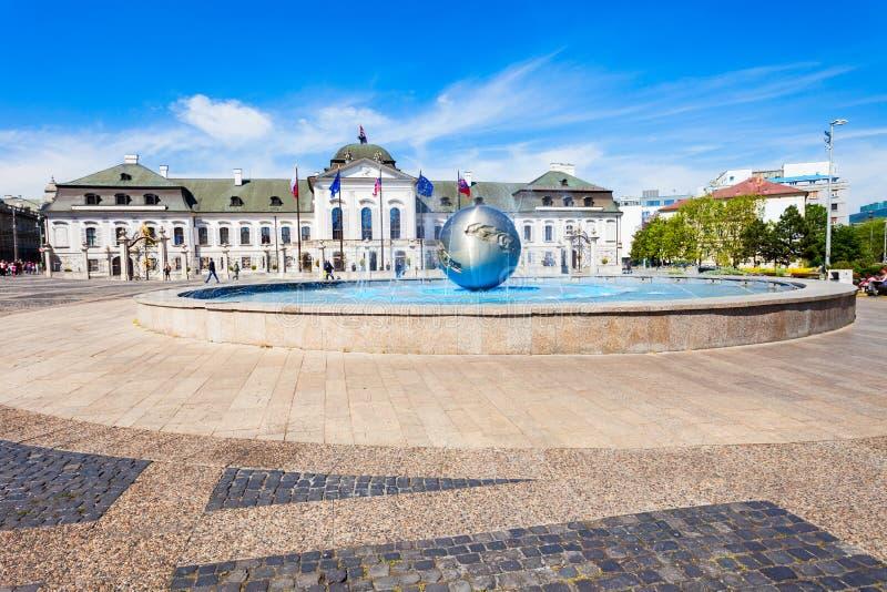 Grassalkovich宫殿在布拉索夫 库存照片