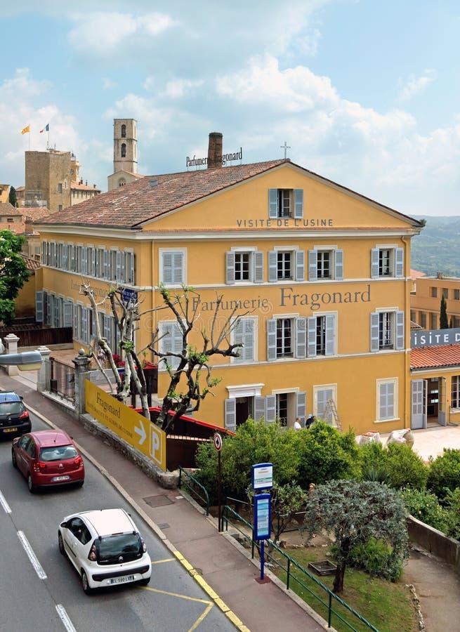 Grasse - fábrica de Parfumerie Fragonard fotografía de archivo libre de regalías