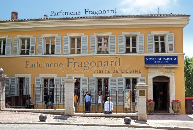 Grasse - Fabrik Parfumerie Fragonard stockbild