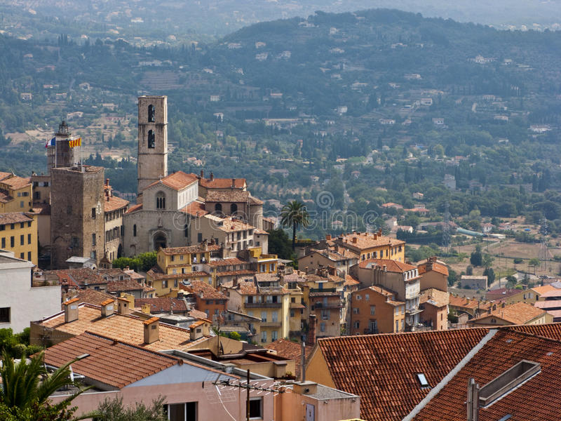 Grasse, France. Grasse the city of fragrances in french Riviera stock image