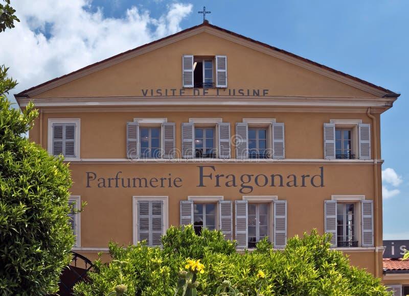 Grasse, Parfumerie Fragonard fabryka - zdjęcia royalty free