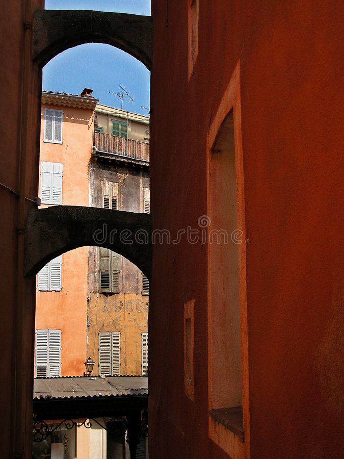 The Grasse Village Royalty Free Stock Photography