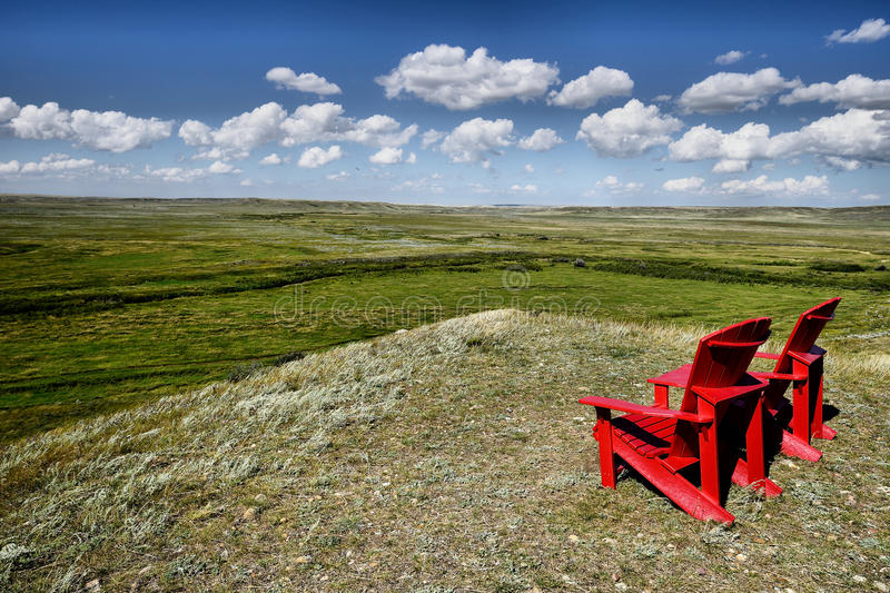 Grasslands National Park royalty free stock image