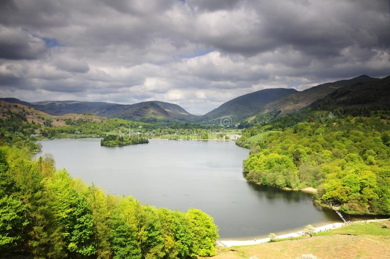 Download Grassmere and the Fells stock image. Image of grassmere - 24918609