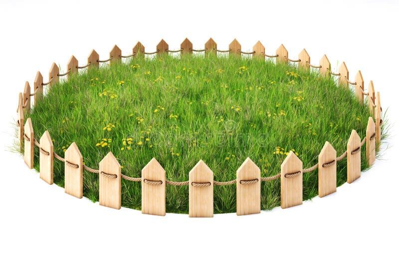 Grassplot royalty-vrije illustratie