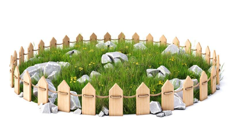 Grassplot stock illustratie