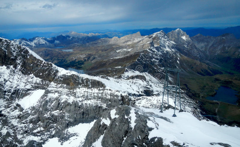 Grassy Lake at the Swiss Alps