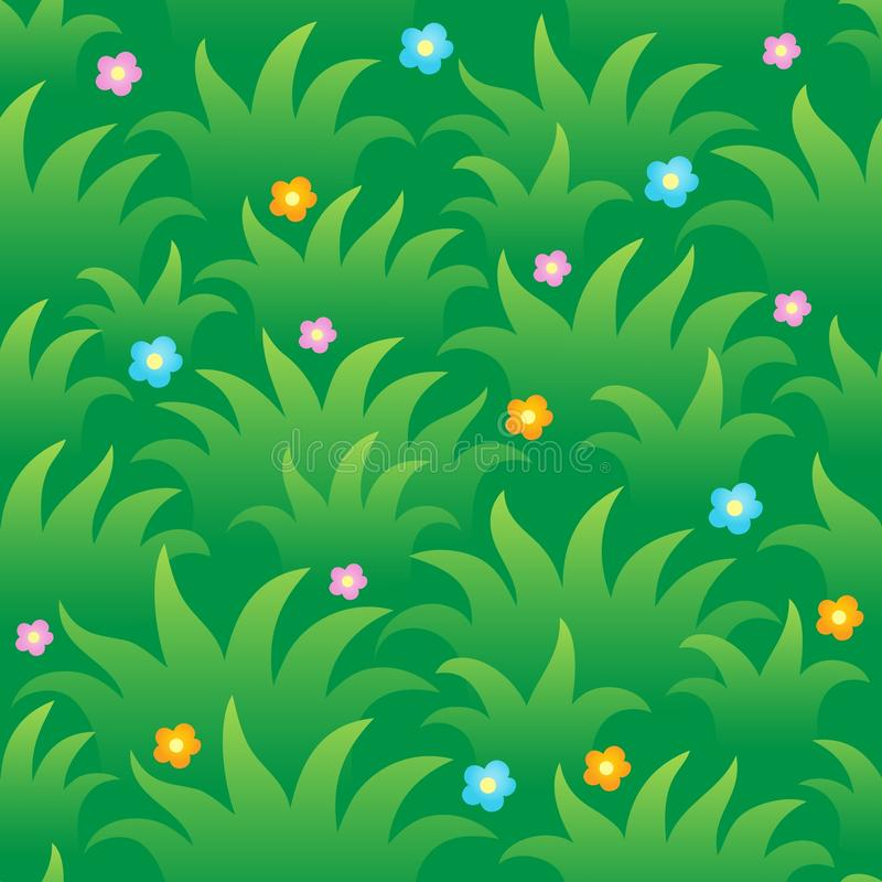 Free Grassy Seamless Background 1 Royalty Free Stock Images - 26181459