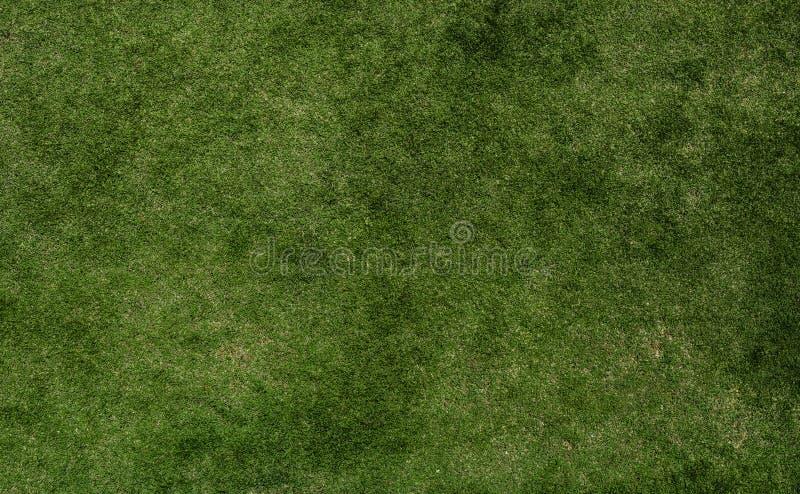 Grastextuur van voetbal stock fotografie
