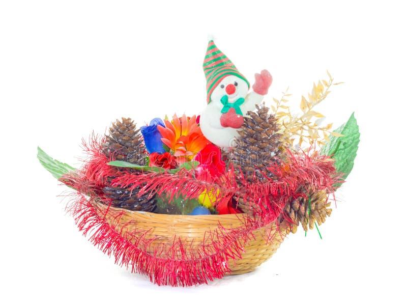 Gratów bożych narodzeń dekoracje zdjęcie stock
