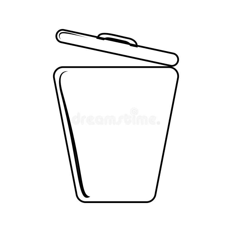 grat pudełkowata ikona Element cyber ochrona dla mobilnego pojęcia i sieci apps ikony Cienka kreskowa ikona dla strona internetow ilustracji