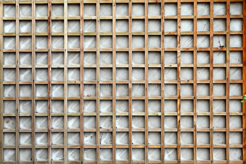 Grata di legno fotografia stock libera da diritti
