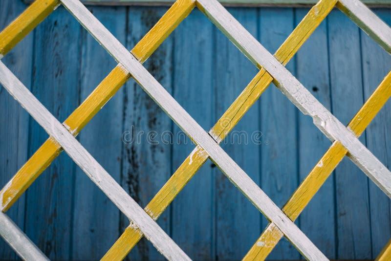 Grata di legno fotografie stock libere da diritti