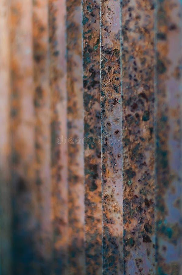 Grating oxidado velho do metal fotos de stock royalty free