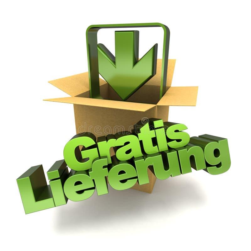 Free Gratis Lieferung Royalty Free Stock Image - 53944456