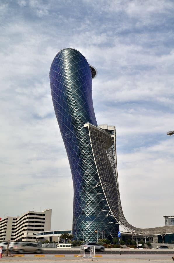 Grattacieli in Abu Dhabi fotografia stock