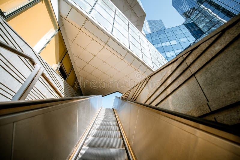 Grattacieli al distretto finanziario della città di Parigi fotografia stock libera da diritti