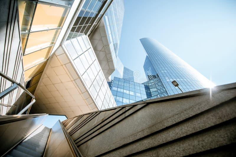 Grattacieli al distretto finanziario della città di Parigi fotografia stock