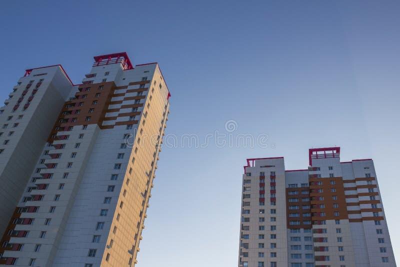 Grattacieli, alloggi nuovi fotografie stock