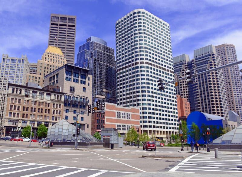 Grattacieli a Boston, Massachusetts fotografia stock