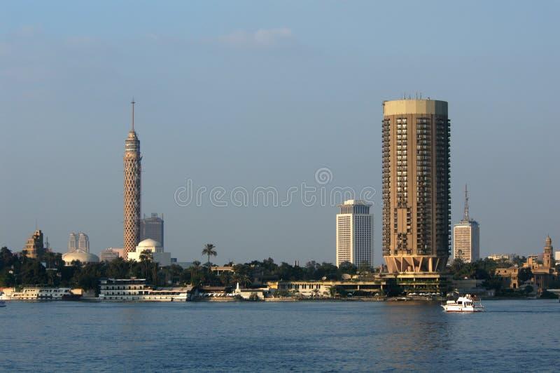 Download Grattacieli a Cairo fotografia stock. Immagine di panorama - 450126