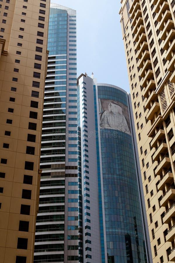 Grattacieli dal Dubai, UAE fotografie stock
