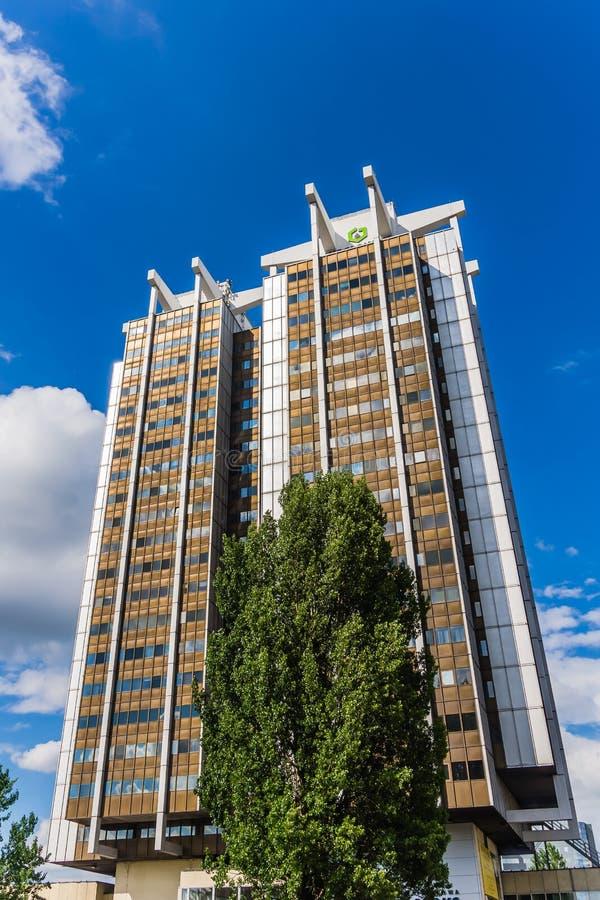 Grattacieli del gemello di Stalexport immagine stock