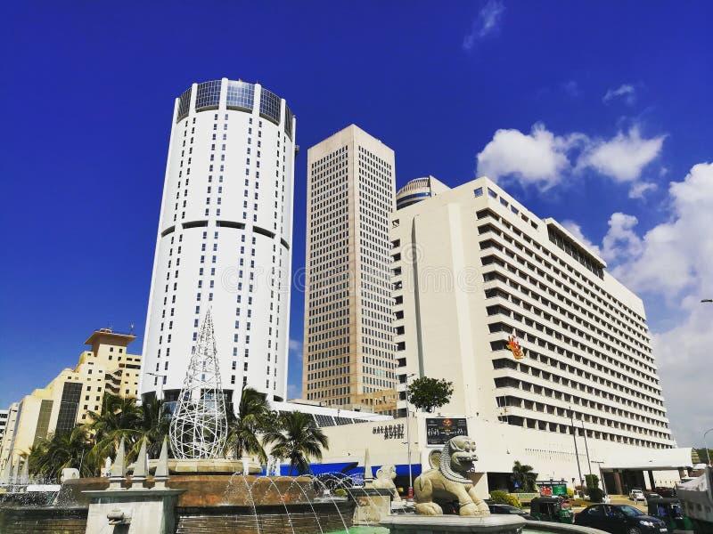 Grattacieli della Sri Lanka fotografia stock