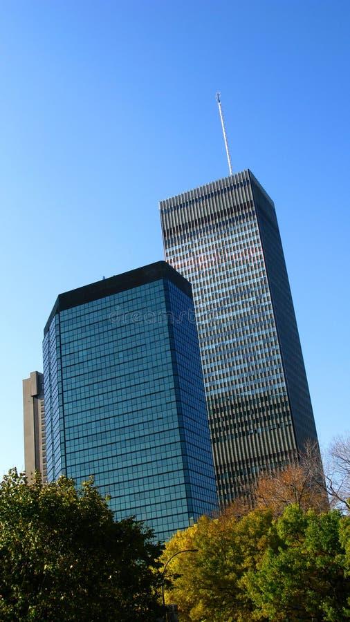 grattacieli di Montreal fotografia stock