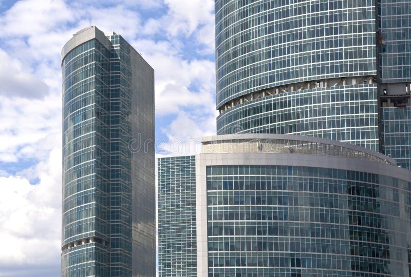 Grattacieli di Mosca immagini stock libere da diritti