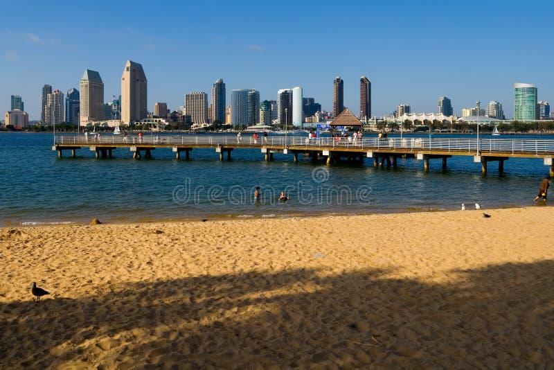 Grattacieli di San Diego fotografie stock