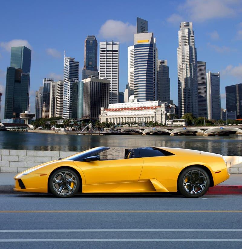 Grattacieli di Singapore immagine stock