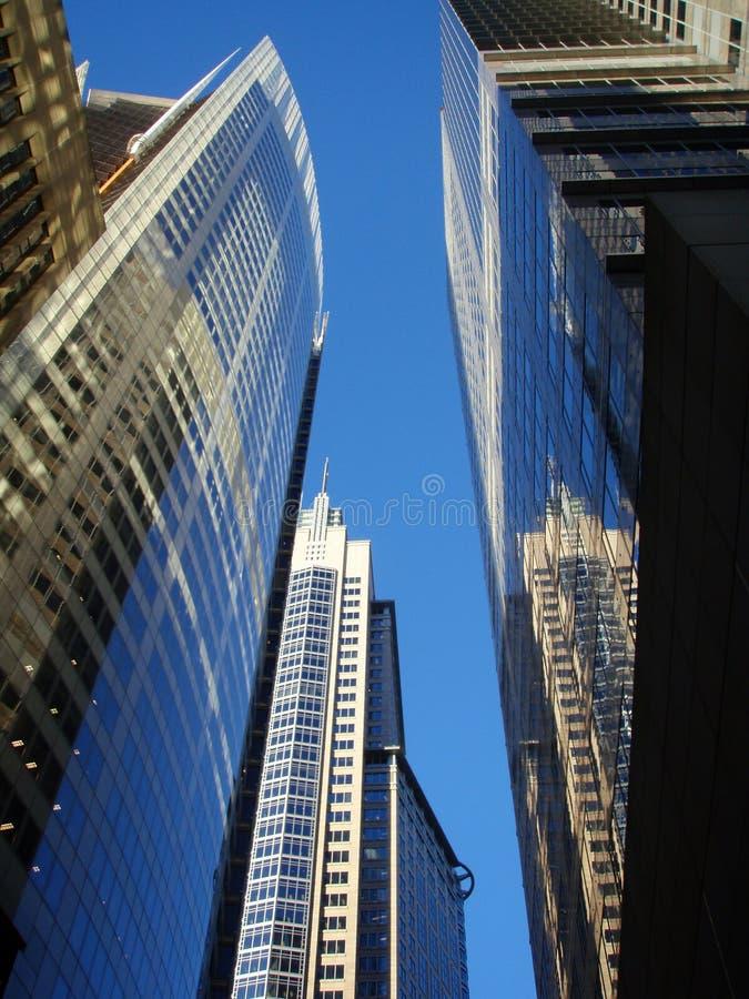 Grattacieli di Sydney immagine stock libera da diritti