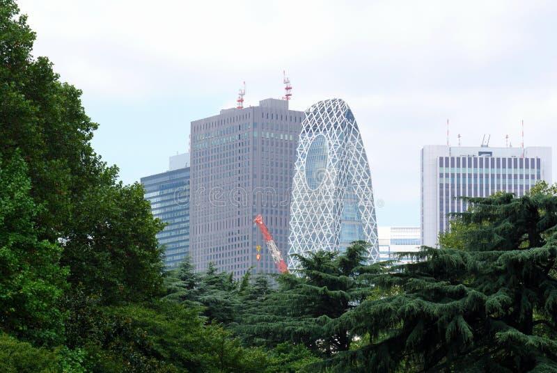 Grattacieli di Tokyo Giappone immagini stock