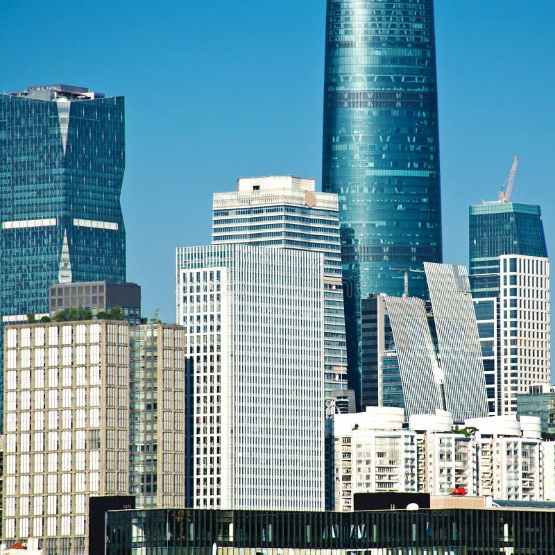 Grattacieli a guangzhou immagine stock libera da diritti