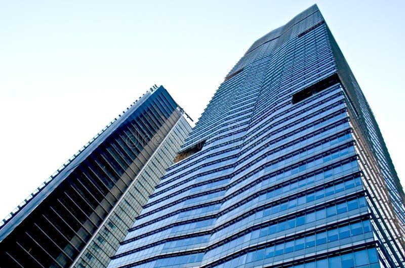 Grattacieli a guangzhou immagini stock libere da diritti