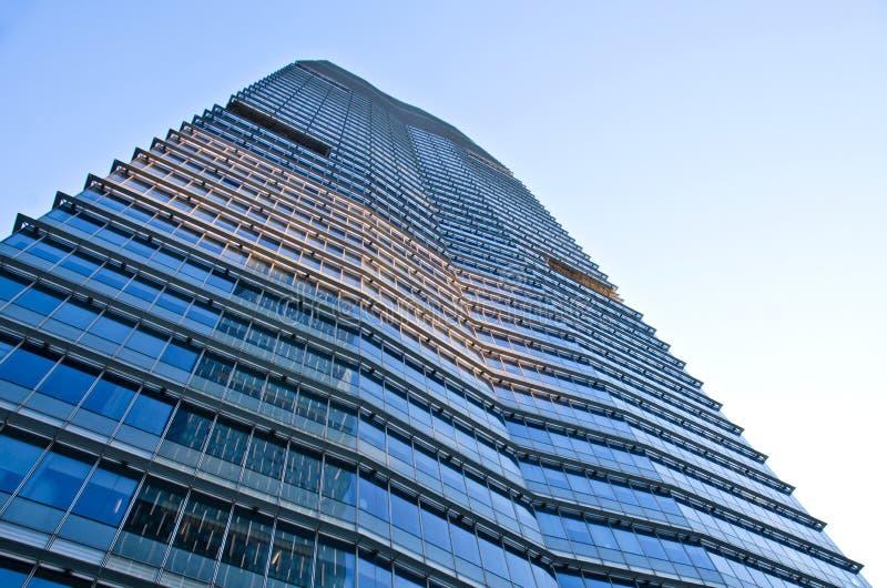 Grattacieli a guangzhou fotografie stock